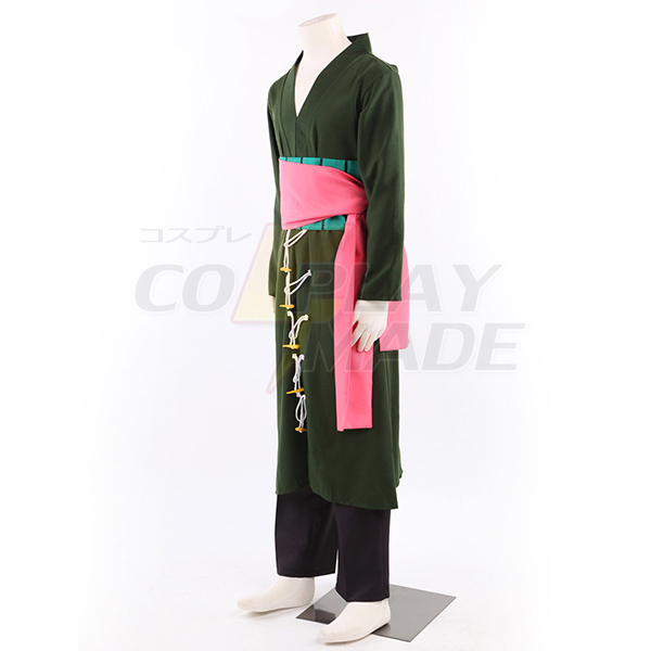One Piece Roronoa Zoro 2 Years Late Cosplay costume