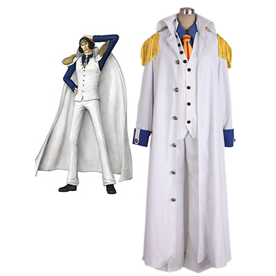 One Piece Kuza Uniforme Cosplay Costume Carnaval