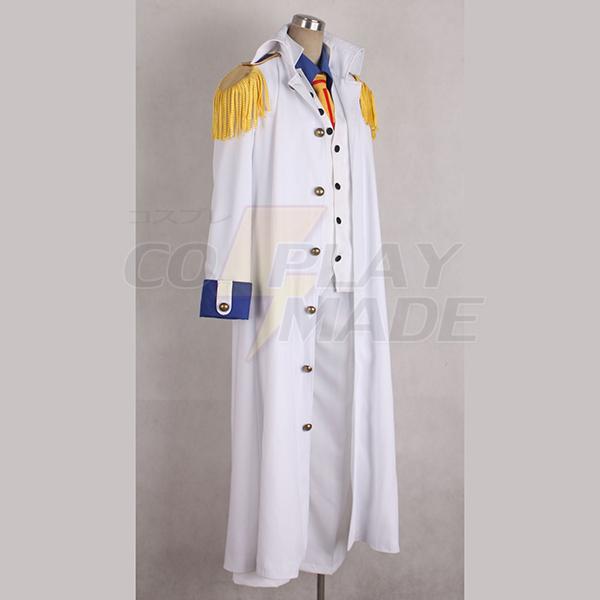 One Piece Kuza Uniform Cosplay Kostume Fastelavn
