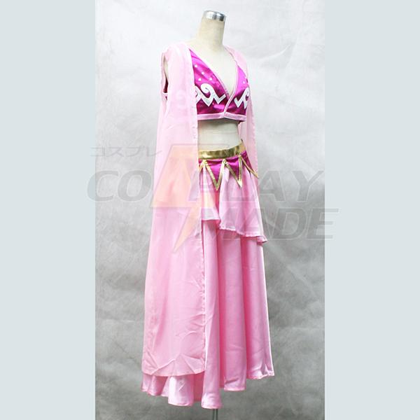 One Piece Nami Pink Lolita Cosplay Kostume Fastelavn