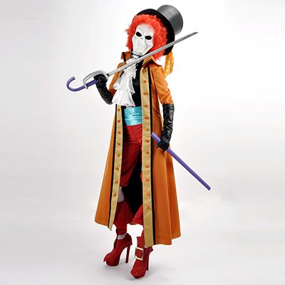 One Piece Film Z Brook/Burukku Cosplay Costume Carnaval