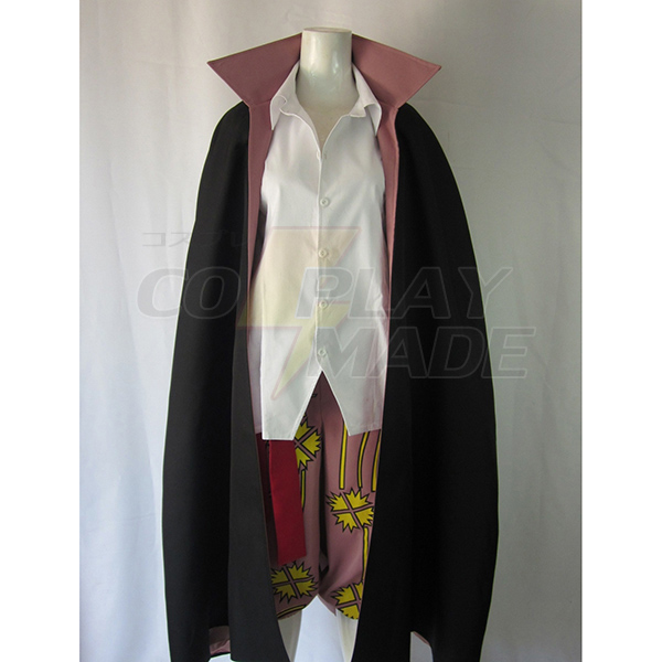 One Piece Red-Haired Shanks Two Years Late Cosplay Costume