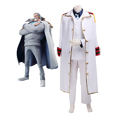 One Piece Monkey·D·Garp Cosplay Costume Carnaval