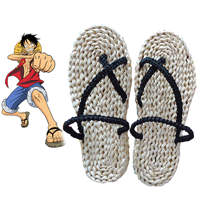 One Piece Monkey·D·Luffy Cosplay Zapatos Carnaval