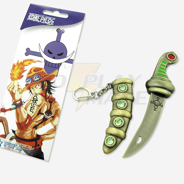 One Piece Portgas·D· Ace Dagger Cosplay Accessories Fastelavn