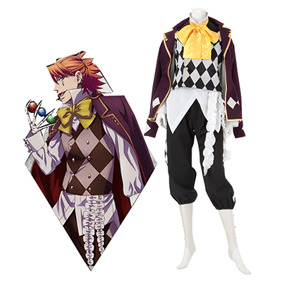 Black Butler Joker Cosplay Costume Carnaval