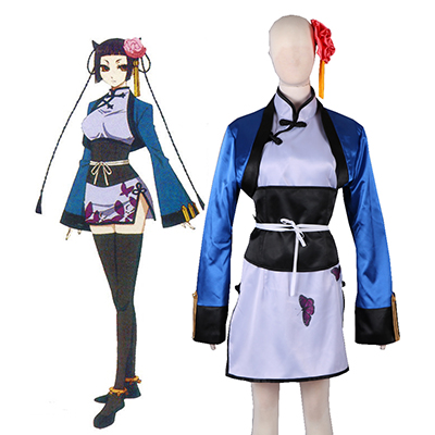 Black Butler Ran Mao Cosplay Costume