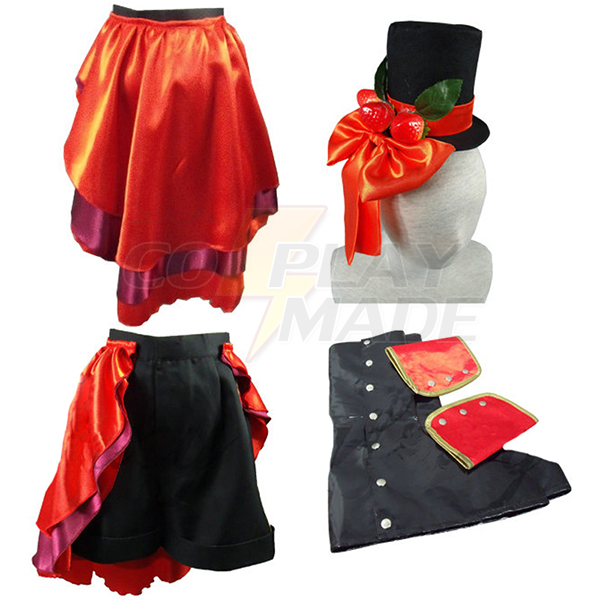 Black Butler Ciel Phantomhive Black Lolita Cosplay asut Naamiaisasut