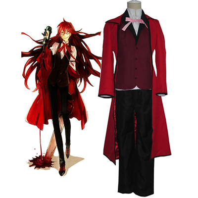 Black Butler Grell Sutcliff Cosplay Costumi Carnevale