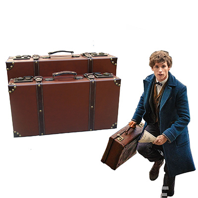 Fantastic Beasts and Where to Find Them Newt Scamander Magic Box Cosplay Apoyos Carnaval