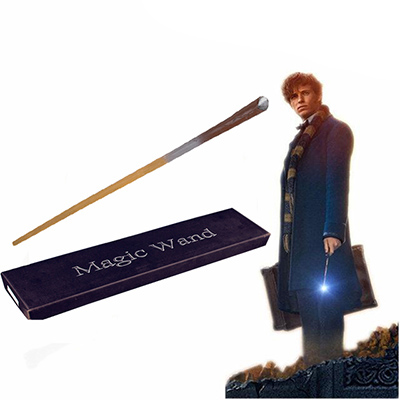 Fantastic Beasts and Where to Find Them Newt Scamander Magic Wand Cosplay Apoyos Carnaval