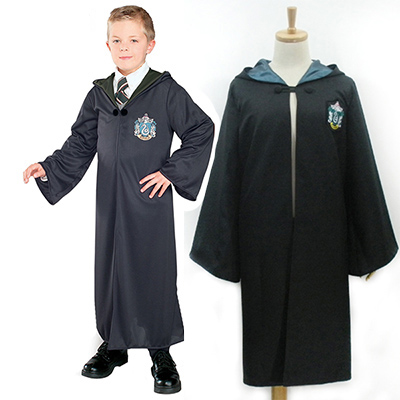 Harry Potter Slytherin Magic Kjoler Cosplay Rekvisitter Karneval