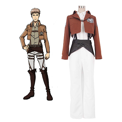 Attack On Titan Colossal Survey Corps Cosplay Kostym Karneval