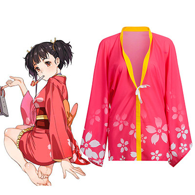 Kabaneri of the Iron Fortress Mumei Cosplay Kostyme Karneval