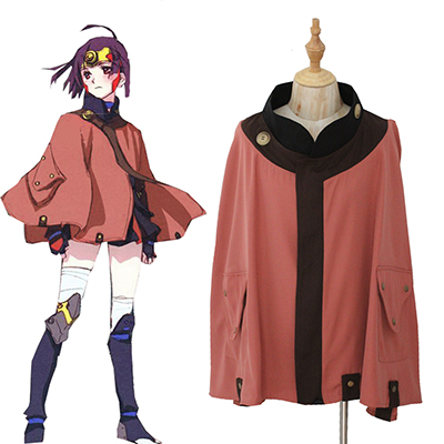 Kabaneri of the Iron Fortress Mumei Cloak Cosplay Kostume Fastelavn