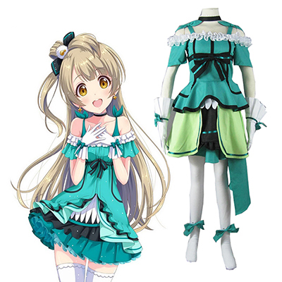 Love Live! Music start!! Kotori Minami Vert Lolita Dress Cosplay Costume Carnaval