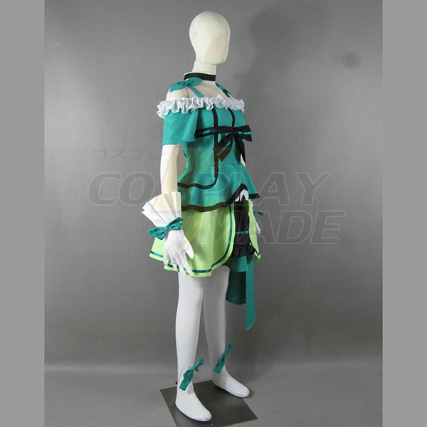 Love Live! Music start!! Kotori Minami Green Lolita Dress Cosplay Jelmez Karnevál