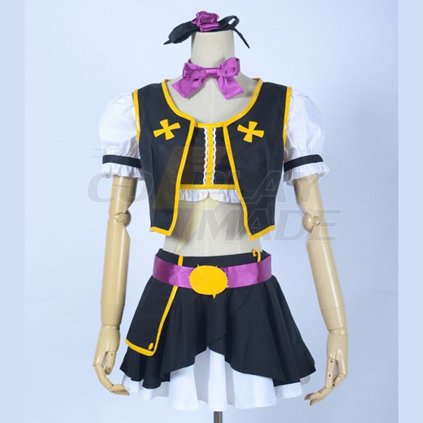 Love Live! Music start!! Maki Nishikino Cosplay Kostume Fastelavn