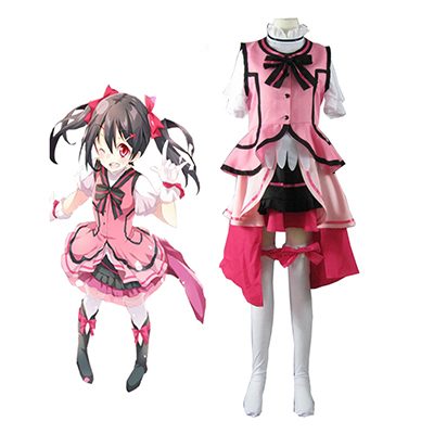 Love Live! Music start!! Nico Yazawa Cosplay Costumi Carnevale
