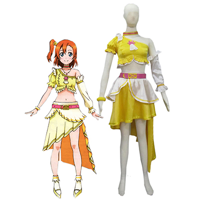 Love Live! Music start!! Hanayo Koizumi Cosplay Costume Carnaval