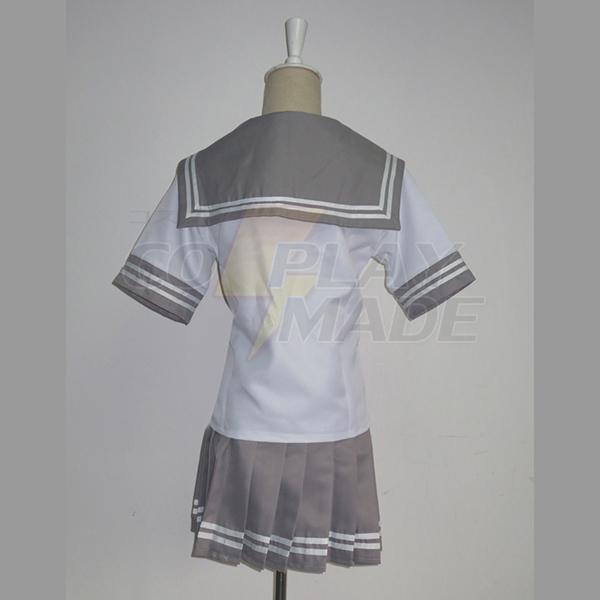 Love Live! Sunshine!! Takami Chika Uniform Cosplay Kostume Fastelavn
