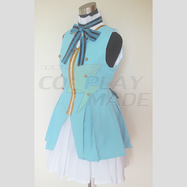 Love Live! Start Dash!! Sonoda Umi Lolita Cosplay Kostume Fastelavn