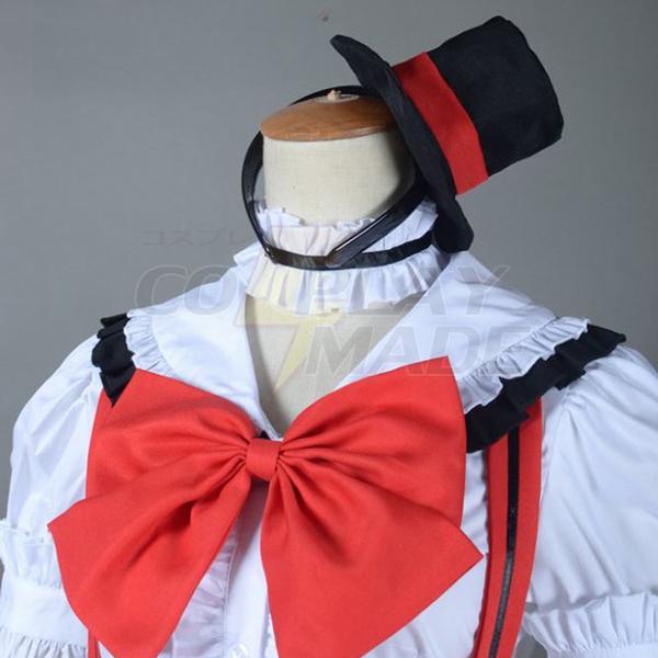 Love Live! Maki Nishikino Lolita Cosplay Kostume Fastelavn
