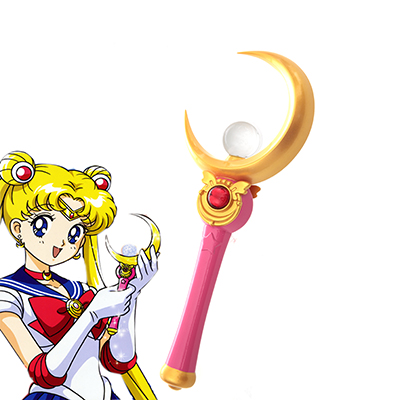 Sailor Moon Tsukino Usagi Stick Cosplay Rekvisitter Karneval