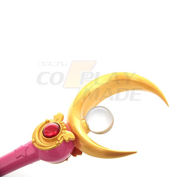 Sailor Moon Tsukino Usagi Stick Cosplay Rekvisiitta Naamiaisasut