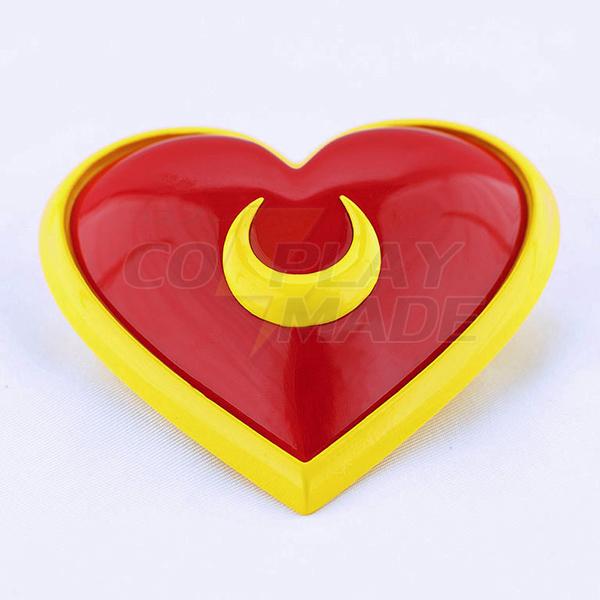 Sailor Moon Tsukino Usagi Moon Heart Pectoral Anime Cosplay Accessories Fastelavn