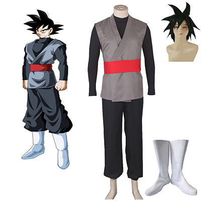 Dragon Ball Zamasu Fighting Cosplay Kostym Karneval