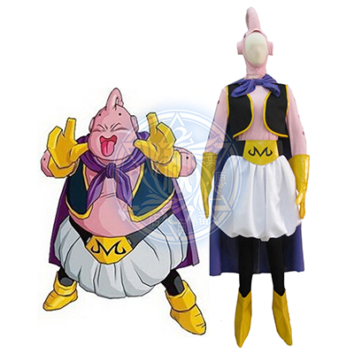 Dragon Ball Majin Buu Cosplay Kostym Karneval