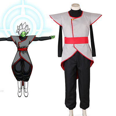 Dragon Ball Zamasu Fighting Enhetlig Cosplay Kostym Karneval