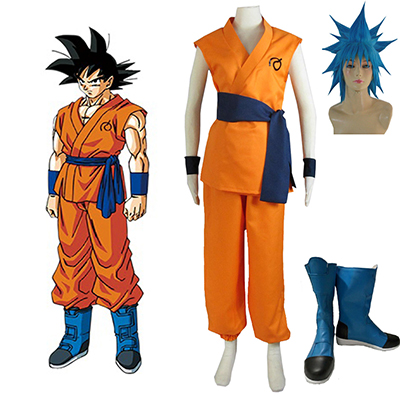 Dragon Ball Kakarotto Cosplay Kostym Karneval