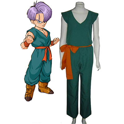 Dragon Ball Trunks Enhetlig Cosplay Kostym Karneval