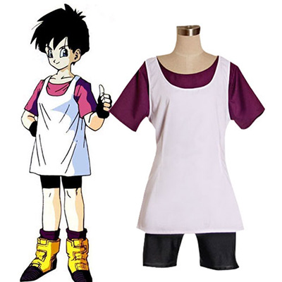 Dragon Ball Videl Cosplay Kostuum Carnaval
