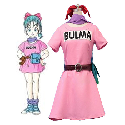 Dragon Ball Bulma Cosplay Halloween Kostuum Carnaval