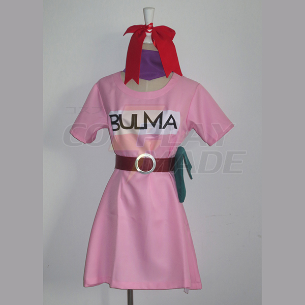 Dragon Ball Bulma Cosplay Halloween Costume