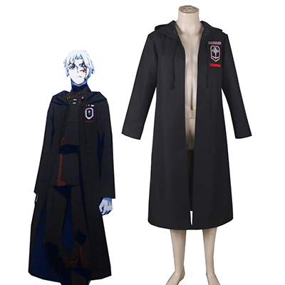 D.Gray-Man Cloak Coat Cosplay Halloween Costume Carnaval