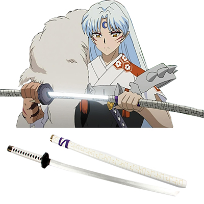 Inuyasha Bakusaiga Cosplay Tre Våpen Karneval