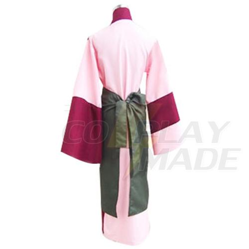 Inuyasha Sango Kimono Cosplay asut Naamiaisasut
