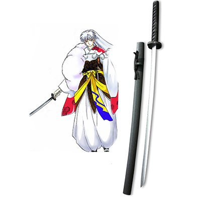 Inuyasha Sesshomaru Cosplay Wooden Weapons