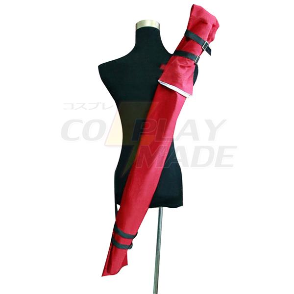Blue Exorcist Rin Okumura Cosplay Red Knife Bag Rekvisiitta Naamiaisasut