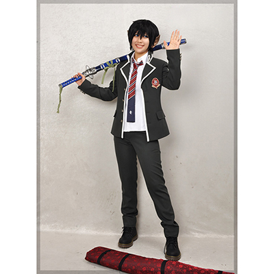 Blue Exorcist Rin Okumura Orthodox College Eenvormigs Heren Kostuum Carnaval