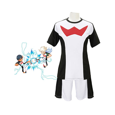 Inazuma Eleven Zero Team Football Uniformes Costumi Carnevale