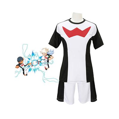 Inazuma Eleven Zero Team Jalkapallo Univormu asut Naamiaisasut
