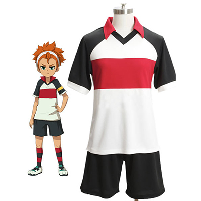 Inazuma Eleven Middle School Football Enhetligs Kostym Karneval