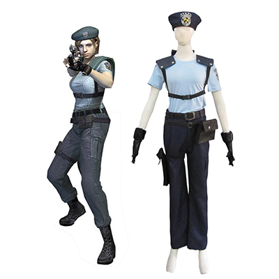 Resident Evil 1 Gioco S.T.A.R.S. Jill Valentine Cosplay Costumi Carnevale