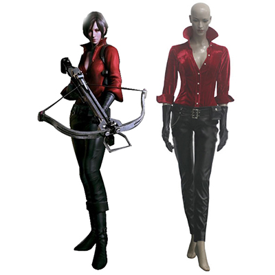 Resident Evil 6 Game Ada Wong Cosplay Women Costume