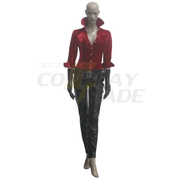 Resident Evil 6 Játék Ada Wong Cosplay Nők Jelmez Karnevál